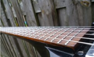 Guild S90 frets restored